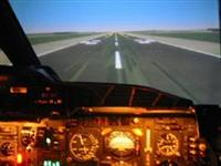 Inside the Concorde simulator during BA operations